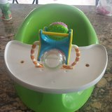 Princelionheart chair with tray and toy in Montgomery, Alabama