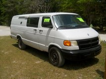 2000 3/4 ton dodge long cargo van in Hamilton Co., FL, Florida