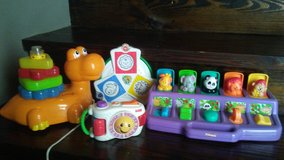 5pce lot toddler baby learning toy in Kingwood, Texas