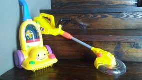 Kids toys  laugh & learn vacuum- weed trimmer/eater in Kingwood, Texas