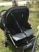 Joovy double black stroller in Perry, Georgia