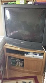 "36"" Toshiba TV & Cabinet in Clarksville, Tennessee"