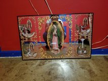 Beautiful picture frame of Mary of Guadalupe in Kankakee, Illinois