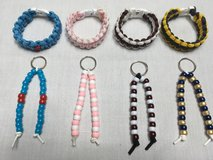HANDMADE PARACORD BRACELETS AND PURSE DANGLES in Belleville, Illinois