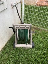 garden hose with high pressure tip in Okinawa, Japan