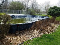 18x36 Above Ground Pool in Algonquin, Illinois