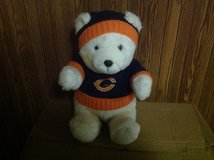 Chicago Bears-Stuffed Bear in Algonquin, Illinois