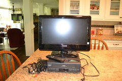 TV and VHS player plus 70+ children's videos in Conroe, Texas