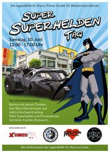 Wanted People with Superhero or Super Villian Costumes that Would like to Help Supprt the Children in Ramstein, Germany