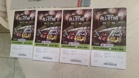 All star race  Charlotte Motor Speedway 4 tickets in Camp Lejeune, North Carolina