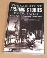 Greatest Fishing Stories Ever Told book in Okinawa, Japan