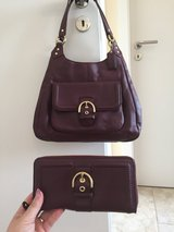 Coach purse and matching wallet in Ramstein, Germany