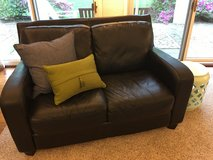 Beautiful Leather Couch in Bartlett, Illinois