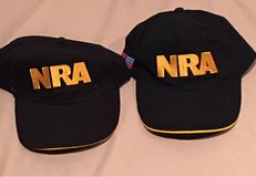2 Embroidered NRA Baseball Caps - New in Okinawa, Japan