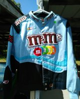 Nice blue M&M jacket. Youth XL in Fort Campbell, Kentucky