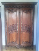 Around 1800 - rare royal Normandy wedding armoire in Ramstein, Germany