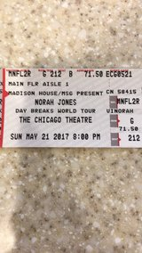 Norah Jones in Naperville, Illinois
