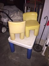 Little Tikes Table and Chairs in Aurora, Illinois