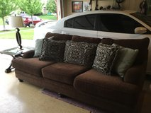 Couch , table and lamp in Lockport, Illinois