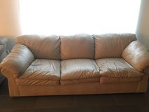 Leather couch and loveseat in Las Cruces, New Mexico