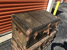 Antique Early 1900's Trunk All Original in Cherry Point, North Carolina
