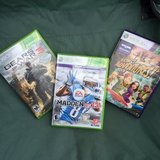 3 XBOX Games in Bolling AFB, DC