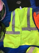 Bike/motorcycle yellow reflective vest in Travis AFB, California