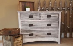 Refinished rustic style dresser chest in Lockport, Illinois