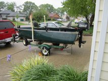 Fishing Boat in Naperville, Illinois