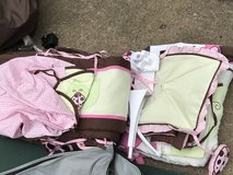 Bedspread, curtain, diaper bag, bed skirt, mobile in Bolling AFB, DC