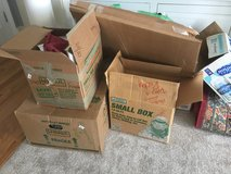 Moving boxes and packing materials in Beaufort, South Carolina