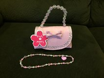 Reduced:  NWT Adorable Purse with Necklace in Naperville, Illinois