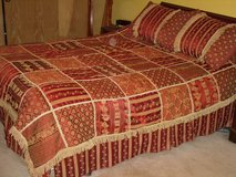 beautiful comforter set-queen sz. in Oswego, Illinois