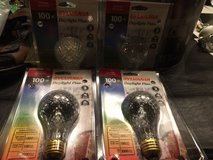 Sylvania 100watt Halogen Light Bulbs - brand new/never used -$4 for all 4 packages in Brookfield, Wisconsin