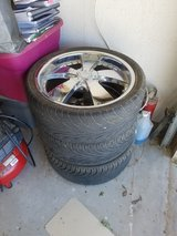 Rims and Tires in Yucca Valley, California