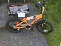 Kids bike in Fort Lewis, Washington