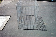 """BIG PET CAGE 48"""" LONG, X 27 1/2"""" WIDE X36"""" TALL. in Bartlett, Illinois"""