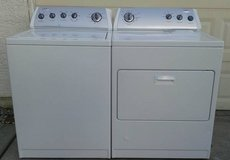 Whirlpool Washer and Dryer in Oceanside, California