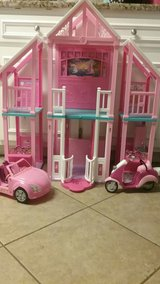 Barbie Dream House with Furniture accessories, Car and Scooter in bookoo, US