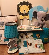 Crib Bedding Set and Room Accessories in bookoo, US