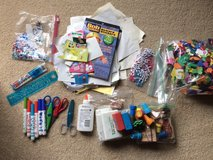 Bag of Misc. Kid's Craft Supplies in Lockport, Illinois