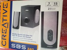 Creative speaker with subwoofer in Travis AFB, California