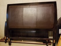 Queen head board and sled bed frame. in Lockport, Illinois
