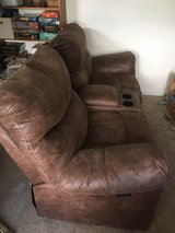 2 seat reclining couch in Fort Carson, Colorado