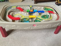 Step2 Deluxe Canyon Road Train & Track Table with Lid in Aurora, Illinois