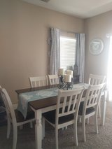 Dining table and 6 chairs (Ashley Furniture) in Yucca Valley, California
