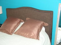 Queen Sized Bed including Mattress and Frame in Lockport, Illinois