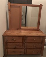 Kids dresser with mirror and night stand in Okinawa, Japan