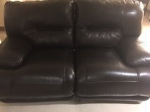 Brown Leather Couches      Call- 080-6485-4833 if interested in Okinawa, Japan