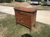Bow Front Tiger Oak Sideboard w/ Big Paw Feet in Cherry Point, North Carolina